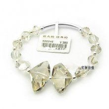 Austria Crystal & Silver Bracelet  #fashion #bracelet #crystal #jewelry #beautiful