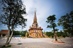 Wat Chalong, The Most Beautiful Temple in Phuket