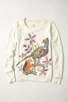 Faisan Pullover #anthropologie