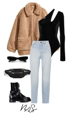 """""""#935"""" by blendingtwostyles ❤ liked on Polyvore featuring Acne Studios, H&M, Alix, Yves Saint Laurent, Valentino and Alexander Wang"""