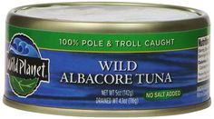Wild Planet Wild Albacore Tuna, No Salt Added, 5 Ounce *** Don't get left behind, see this great product : Fresh Groceries