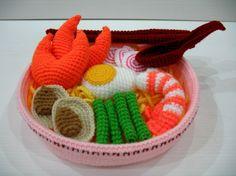 Crochet Ramen Seafood Noodles   Flickr: Intercambio de fotos