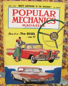 Vintage September 1957 Issue Of Popular Mechanics by CarnivalCrate, $12.95