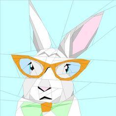 Hipster Rabbit | Craftsy