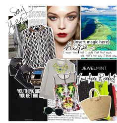 """""""Insert Magic Here."""" by melissa-beee ❤ liked on Polyvore"""