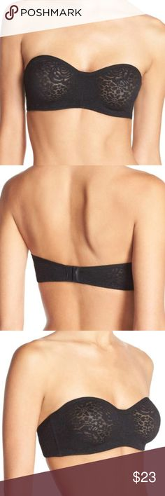 WACOAL HALO CONVERTIBLE UNDERWIRE BRA BLACK WACOAL   HALO CONVERTIBLE UNDERWIRE BRA  STRAPS NOT INCLUDED    US SIZE: 38DDD   COLOR: BLACK   TRIED ON AT NORDSTROM, THIS MEANS THE ITEM MAY HAVE BUT NOT LIMITED TO DEODORANT MARKS, MARKS, PERFUME SMELL OR SNAG (S)    SOLD OUT IN STORES AND ONLINE   NEW WITHOUT TAGS Wacoal Intimates & Sleepwear Bras