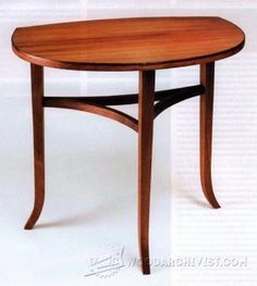 Glass-Top Side Table Plans - Furniture Plans and Projects   WoodArchivist.com