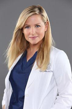 Jessica Capshaw as Arizona Robbins - Season 10 cast photos