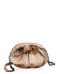 Not a fan of Juicy Couture, but do like their Aristocrat satin daisy mini bag.