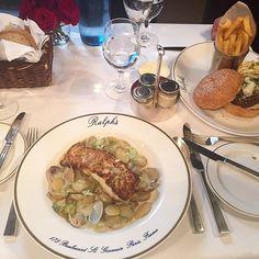Bon appetit😋 Love the @ralphlauren restaurant in Paris #Ralphs #Paris #codfish #healthychoices #foodporn #PFW #moalmada