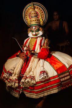 Kathakali. | Kathakali is a south Indian dance