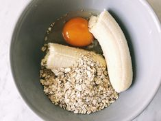Banana pancake different: healthy, adolescent and gluten-free – One Hand in my Pocket Banana pancake different: healthy, adolescent and gluten-free – One Hand in my Pocket Best Breakfast, Breakfast Recipes, Snack Recipes, Banana Breakfast, Eat Better, Healthy Snacks, Healthy Recipes, Healthy Breakfasts, Love Food