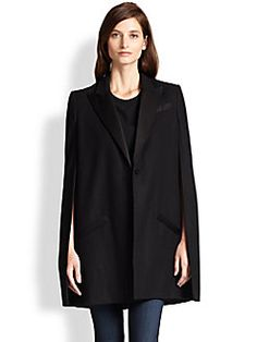 Haute Hippie - The Coven Wool Trench Cape