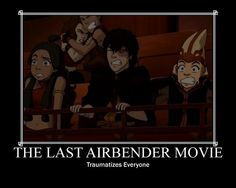 Avatar - avatar-the-last-airbender haha yes the movie sucks! And the cartoon its awesome!