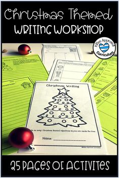 Great Christmas writing prompts for kids! Teachers love these fun lesson plans, activities, and writing rubrics. Great Christmas narrative writing, opinion writing, story starters, graphic organizers, and more for the holidays. Perfect upper elementary or middle school activities for morning work, small groups, or winter breaks. #christmaswriting #5thgrade Teaching Narrative Writing, Narrative Writing Prompts, Paragraph Writing, Writing Workshop, Writing Rubrics, Kindergarten Writing, Christmas Writing Prompts, Holiday Writing, Writing Prompts For Kids