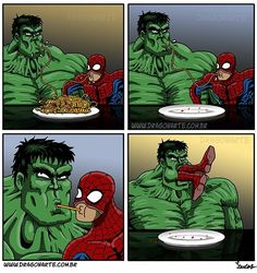 Oh no, Spiderman!