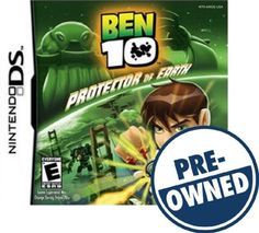 Ben 10: Protector of Earth — PRE-Owned - Nintendo DS, 879278320055