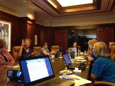 The Iowa Association of School Librarians is making a difference for school libraries and librarians in Iowa. Here the executive board plans for the coming year.