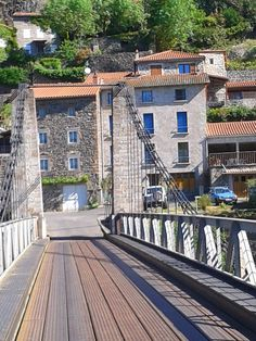 Chilhac ...vue du pont. . .! ! !