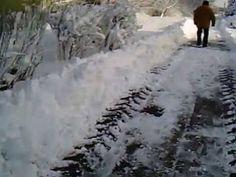 25 cm śniegu - SŁUPSK (01.02.2015)