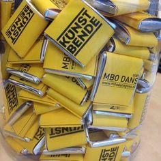 Chocolaatjes Kunstbende&MBO Dans Goes
