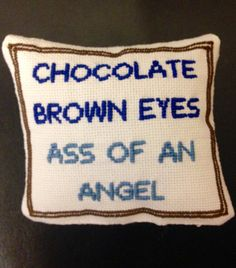 Broad City 'Ass of an Angel' Pillow