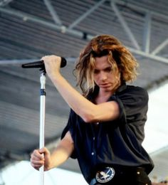 Michael Hutchence 1960-1997. Died from suicide by hanging at the age of 37.