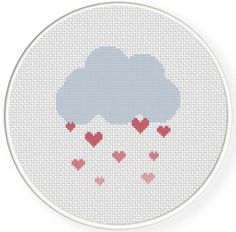 FREE for April 26th 2014 Only - Love Shower Cross Stitch Pattern