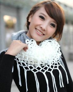 Fashion Women Winter Warm Knit Long Scarf Infinity Tassels Soft Shawl 7 Colors (White) Novawo,http://www.amazon.com/dp/B00GN8CGYQ/ref=cm_sw_r_pi_dp_6iZWsb0DPBCY6XXB
