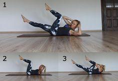 Pilates. Ćwiczenia na płaski brzuch  - Zdrowie