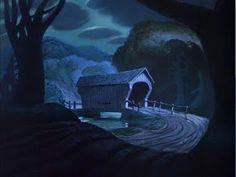 Animation Backgrounds: The Legend of Sleepy Hollow (Disney, 1949)
