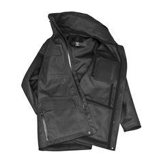 The Eiger Waterproof Field Jacket by MISSION WORKSHOP