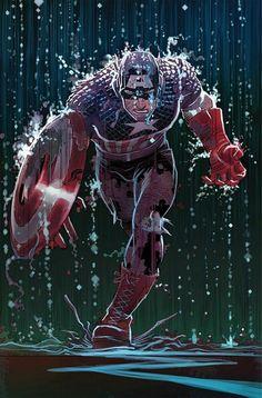 captain america comic book photos | Captain America #6 Review