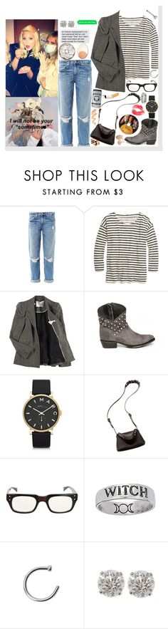 """""""I was over crying in my pillow, wondering where we went wrong and if you were ever coming home. ♥"""" by loretta-mccoy ❤ liked on Polyvore featuring rag & bone, Madewell, Luella, Matisse, Marc by Marc Jacobs, Fleet Ilya, eyebobs, ZIG-ZAG and gay"""