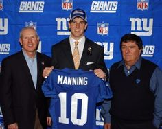 Selected first overall by the San Diego Chargers in the 2004 NFL Draft, Eli Manning was later traded to the Giants for Phillip Rivers and draft picks. Manning is now a two-time Super Bowl MVP.