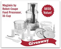 Magimix Food Processor Giveaway by Rubies & Radishes Best Food Processor, Food Processor Recipes, Paleo Cookbook, New Cookbooks, How To Eat Paleo, Beef Dishes, Homemaking, Paleo Recipes, In This World