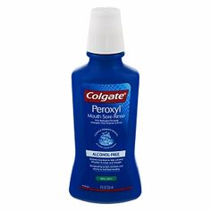 Good for people with Sjogrens Syndrome (just make sure that you alternate between this mouthwash and a moisturizing mouthwash)Colgate Peroxyl Mouth Sore Rinse, Antiseptic Oral Cleanser & Rinse, Mild Mint/Alcohol Free