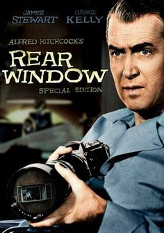 If you are a lover of movies made in the or just love nostalgia, you probably have heard of Rear Window, an all-time classic Alfred Hitchcock film with Jimmy Stewart and Grace Kelly. Alfred Hitchcock, Hitchcock Film, Old Movies, Vintage Movies, Great Movies, Awesome Movies, Scary Movies, Horror Movies, Love Movie