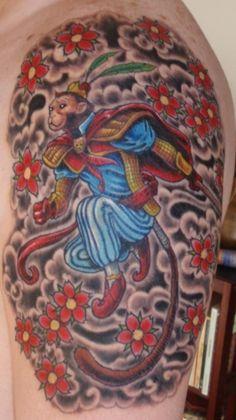 I want Monkey King as my next tattoo