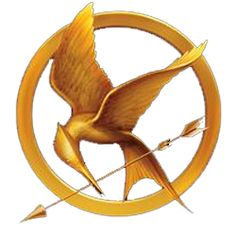 Get a sticker of the Mockingjay pin that Katniss wears in to the games. A sticker from The Hunger Games Hunger Games Party, Logo Hunger Games, Hunger Games Problems, Hunger Games Trilogy, Nerd Problems, Hunger Games Mockingjay, Hunger Games Catching Fire, Tribute Von Panem Film, The Hunger