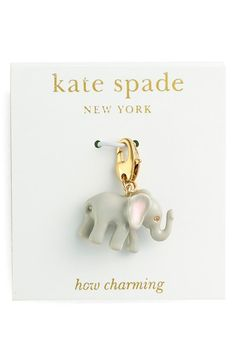 kate spade new york 'how charming' novelty charm   Nordstrom