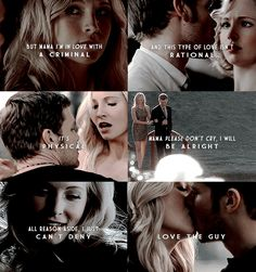 Klaus and Caroline Britney Spears song this song didn't she? Vampire Diaries Damon, Vampire Diaries Quotes, Vampire Diaries The Originals, Klaus The Originals, Caroline Forbes, Klaus And Caroline, Delena, The Cw, Tvd Quotes