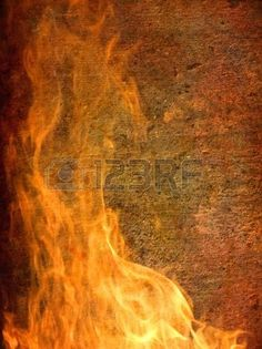 Backgrounds And Textures - Burning  grunge background - Vertical.