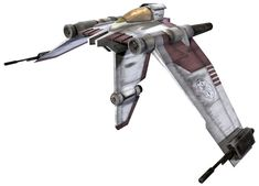 V-19 Torrent starfighter (from Star Wars - The Clone Wars)