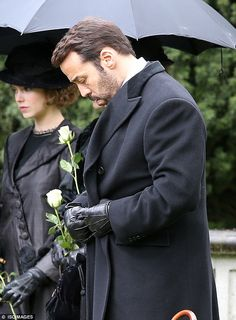 Death in the family: The third series of Mr Selfridge picks up after the death of his wife Rose...