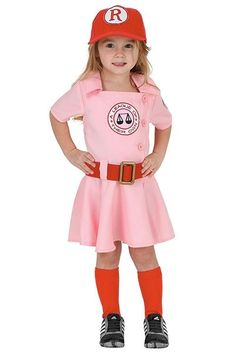 dottie a league of their own toddler costume