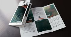 Psd Tri Fold Mockup Template Vol2 | Psd Mock Up Templates | Pixeden