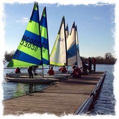 Sailing course, South Cerney #makeithappen