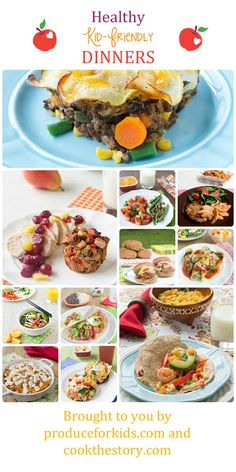 Healthy Kid-Friendly Dinners from Produce for Kids