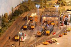 Waverley West, Princes St Gardens and Haymarket MPD - Layout topics - RMweb N Scale Model Trains, Model Train Layouts, Scale Models, N Scale Layouts, British Rail, Real Model, Train Set, Plastic Model Kits, Model Railroader